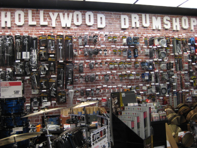 los angeles drum community guitar center sam ash hollywood drum shop. Black Bedroom Furniture Sets. Home Design Ideas